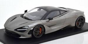 TSM 2017 McLaren 720S Grey metallic in 1/12 Scale New Release!