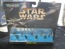 1996 Star Wars Micro Machines 66076 Imperial Pilots Set New in Package