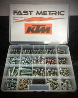Artudatech Kit de boulons de moto pour K-T-M EXC SX XCR SXF 125 150 200 250 300 350 450 520 525