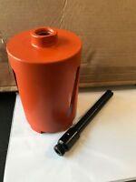 107mm Masonry Hole Cutter Dry Diamond Core Drill Bit + SDS MAX Adaptor 8809/8861