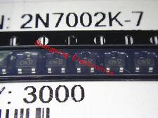 100pcs 2N7002K C7K SOT-23 transistor