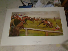 2 LARGE CECIL ALDIN GRAND NATIONAL PRINTS VGC LIMITED EDTN FREE POSTAGE UK !!