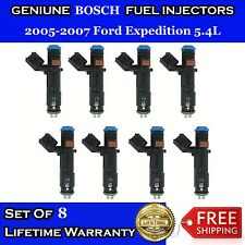 Upgraded 4 Hole Oem Bosch Fuel Injectors For 2005 2007 Ford Expedition 54l V8