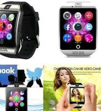 3 COLORI Comunità Q18 SMART WATCH BLUETOOTH/TF/Fotocamera/MP3/SIM per Android IOS