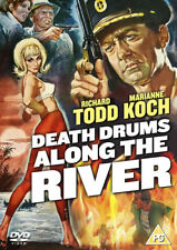 Death Drums Along the River DVD (2014) Richard Todd ***NEW***
