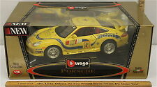 Burago Porsche GT3 Cup Monopole 1:18 Scale Gold Collection Model # 3395 NIB