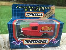 MATCHBOX - FORD VAN - BIG SISTER - SMALL SCALE TOY   - 'RARE BOXED'- 1988 - MB38