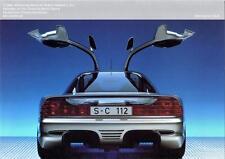 Print. 1991 Mercedes-Benz C112 Concept a Auto Ad