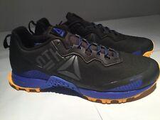 reebok all terrain craze Men CN6338 Trail Running Shoes Black Blue Yellow 10M