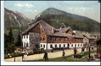 Leoben Steiermark Gastwirtschaft Zum Reichenstein ~1909 Postkarte Österreich