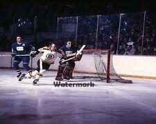NHL 1970 1st Season Vancouver Canucks vs Boston Bruins Color  8 X 10 Photo