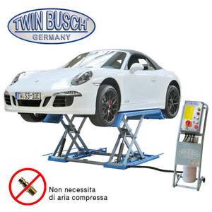 Twin Busch ® Doppia forbice per gommisti e carrozzieri 3,0 t - Sblocco eletrico