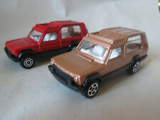 Corgi Juniors 1978 Red & 1981 Gold 76 Chrysler Matra Rancho Truck's (MINT)