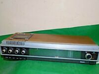 PHILIPS 811 Vintage Radio and Cassette Player 1970s Made Finland FAULTY / SPARES