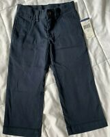 NWT POLO RALPH LAUREN Boys Chino Pants Navy Blue Cotton  Toddler size 2T