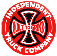Independent Trucks Built To Grind Skateboard Sticker 7.5cm skate snow surf board