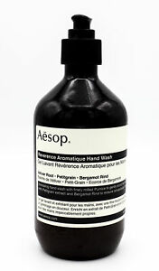 Aesop Reverence Aromatique Hand Wash 500ml NEW Scuffed