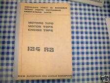 BB Catalogo Parti di Ricambio MOTORE SWM 124 RZ