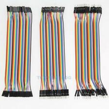120pcs 20cm Jumper Wire DuPont Cables Male to Female M/M for Arduino Breadboard