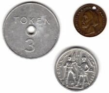 Mix Of Old Tokens/Medallions Including 1807 G.Garibaldi***Collectors***(OT3)
