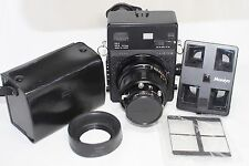 Excellent Mamiya Universal Press Body w/ Sekor P 127mm f/4.7 Lens & Adapter