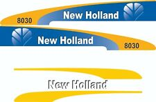 New Holland 8030 Tractor Decal / Adhesive / Sticker Complete Set