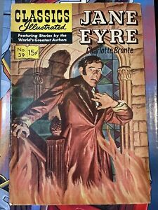 Classics Illustrated Jane Eyre, No 39, August 1966 GD