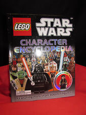 LEGO STAR WARS CHARACTER ENCYCLOPEDIA By Dk - Hardcover with exclusive figure