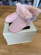 Baby Girl Uggs Booties 0-6 Months