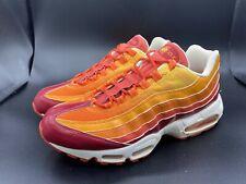 2006 Nike Air Max 95 Human Torch Fantastic 4 Size 11 609048-681 COLLECTORS PAIR!