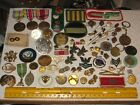 vintage+junk+drawer+lot%2CMilitary%2Cpins%2Cmedals%2Cstickpins%2CBoy+Scouts%2CBusy+Bees%2Crare