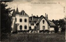 CPA PUY-GUILLAUME Chateau de ST-ALYRE (409742)