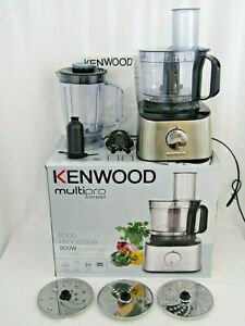 Kenwood Multipro Compact FDM300SS 800W 2.1L Food Processor used once