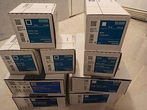 128 Stück Jung AS Serie Schalter, Steckdosen , Wippen, Taster, Rahmen