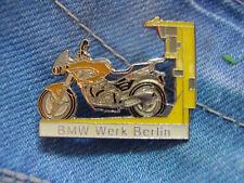Pin Pins Ansteckpin BMW Motorrad Werk Berlin Bayerische Motorenwerke AG München