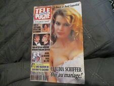 """TELE POCHE N°1480 - 1994"" Claudia SCHIFFER, Bernard GIRAUDEAU, Buzy"