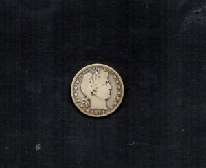 UNITED STATES 1914-S BARBER 50 CENTS. LIBERTY HEAD. 90% SILVER. PLS C BOTH SCANS