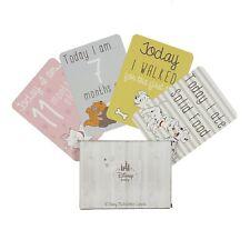 Disney 30 Milestone Cards Baby Shower Gift Alternative Keepsake Newborn Present