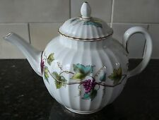 Royal Worcester BACCHANAL / Cream 3-Cup Teapot