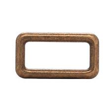 Die Cast Rectangular Ring 1 1/4 x 5/8 Id Antique Brass 14866-09