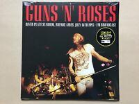 GUNS 'N' ROSES River Plate Stadium, Buenos Aires Fm broadcast white vinyl lp