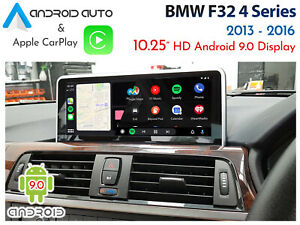 """BMW F32 4 Series - Touch 10.2"""" Android 9.0 Display + CarPlay & Android Auto"""