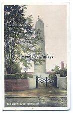 tq0299 - Lincs - The High Lighthouse in Burnham (no longer working) - postcard