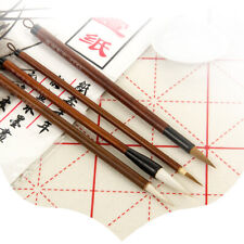 Chinese Calligraphy Brush Painting Assd Goat /& Sable Liner Brush Set MCR8126A