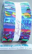 """LARGE Jelly Roll 40 strips 2.5"""" x 42"""" - Shade Kaffe Fassett Collective 2017"""