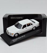 Minichamps 430039309 Mercedes Benz 500 SE Bj.1989 weiss selten 1:43, OVP, 114/32