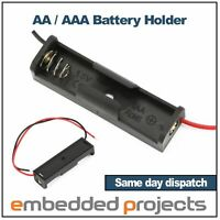 AA / AAA Battery Holder, single cell
