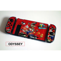 Mario Odyssey Plastic Protective Shell Cover Case for Nintendo Switch & Joy-Con