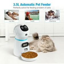 New listing Automatic Pet Food Dispenser Dog Cat Feeder Waterer Auto Dish Bowl