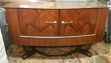 Vintage 60's Beautility Walnut Buffet Sideboard 2 Drawers Mid-Century Retro